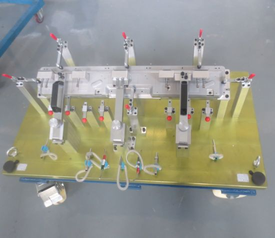 CNC Machining Automotive Check Fixture for Vehicle Assembly with 8 Years Expertise Team