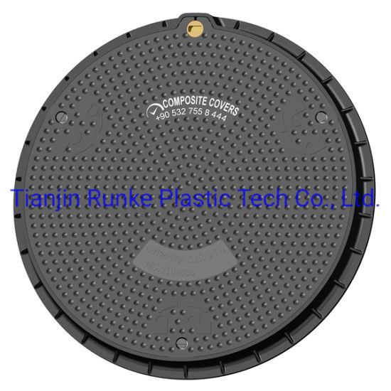High Quality SMC Telecom Manhole Cover Composite Communication Manhole Cover FRP Lockable Manhole Cover