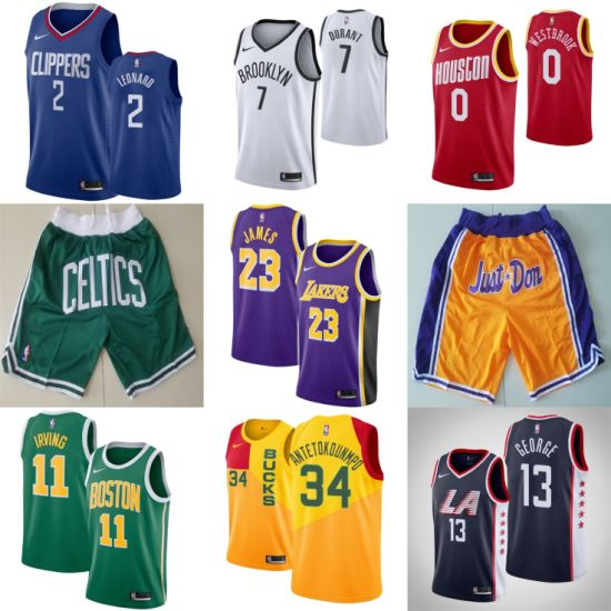 2019 N-B-a James Durant Irving Leonard Wade Just-Don Basketball Jerseys pictures & photos
