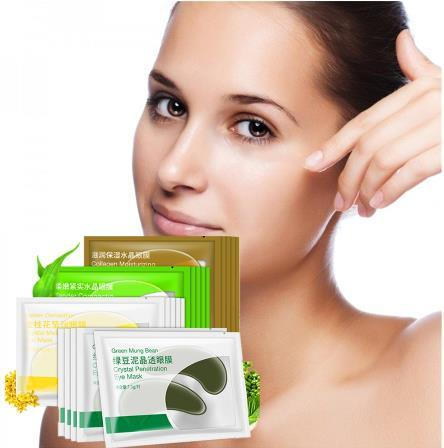 Collagen Crystal Eye Mask Eye Patches Dark Circles Under Eye Pad Cream pictures & photos