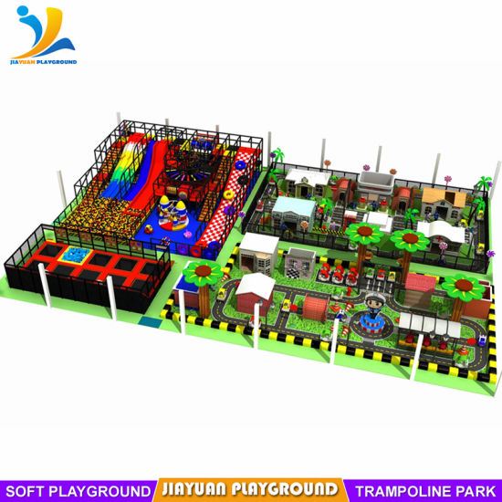 Customized Playground Indoor Trampoline for Sale