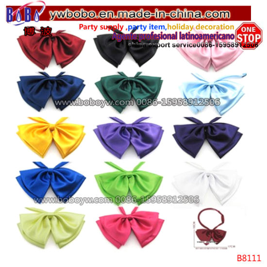 """Large 7/"""" SATIN BOW wedding decoration for band//clip//hair//sash//dickie bow tie"""