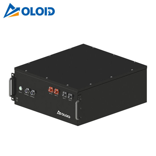 48V100ah Solar Li-ion Rechargeable Box LiFePO4 Lithium Battery with BMS