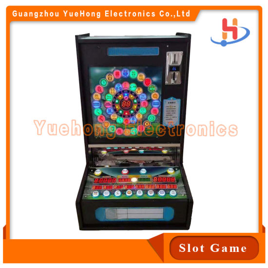 New Design Roulette Jackpot Gambling PCB Gameboard Mario Slot Casino Game Machine with Slot Cabinet