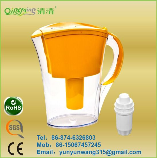 Water Filter Pitcher/Jug for Drinking with SGS, Ce, RoHS Certificate pictures & photos