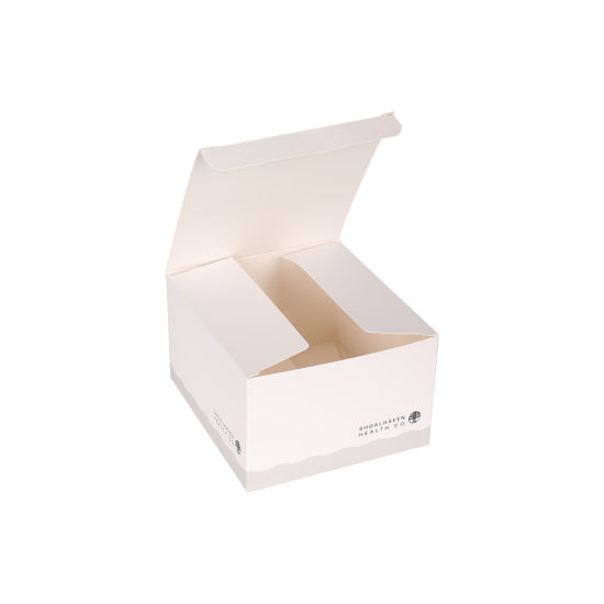 Ivory Custom Design Glossy Gift Box for Cake
