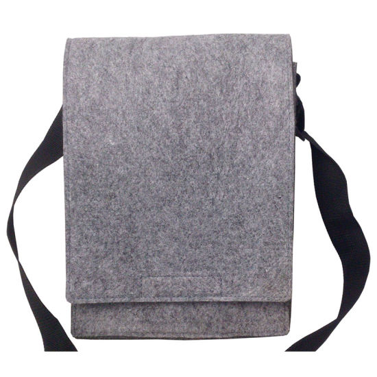 Felt and PU Combination Ladies Tote Bag, Tote Shopping Bag pictures & photos