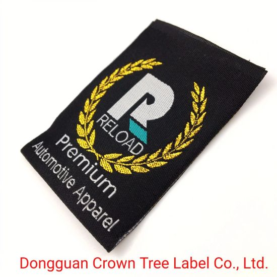 a Set of Woven Labels Include Size and Brand Name Logo for Garment