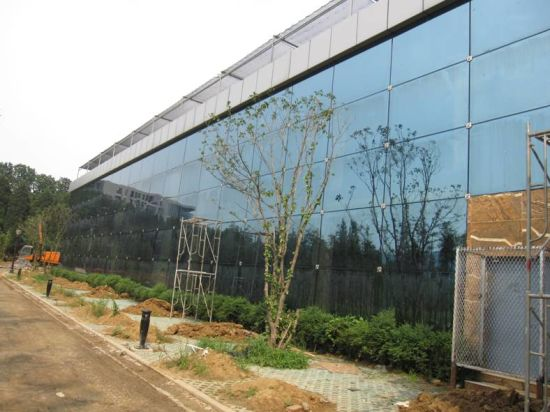 Preengineered Steel Structure Building with Glass Curtain Wall (SS-145) pictures & photos