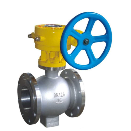Quanshun Wafer Type Semi Ball Valve for Molten Salt Dissolving System pictures & photos