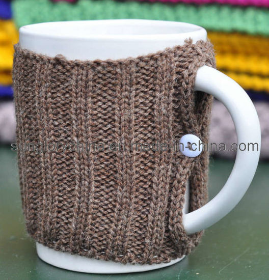 Wholesale Knitted Design Coffee Mug Ceramic Mug
