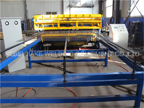 Automatic Welded Wire Mesh Welding Fence Rebar Machine pictures & photos