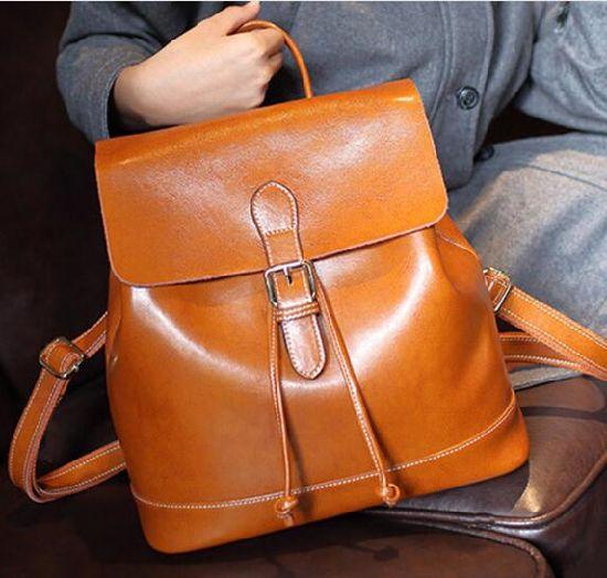 Fashionable Leather Handbag with Handles, Leather Handbags for Women Genuine