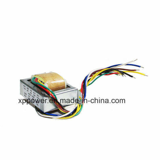 with lead wire ei shape audio frequency transformer (aft)