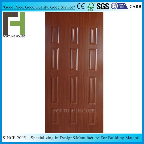 Glossy and Matt 4.2mm Melamine HDF Moulded Door Skin pictures & photos