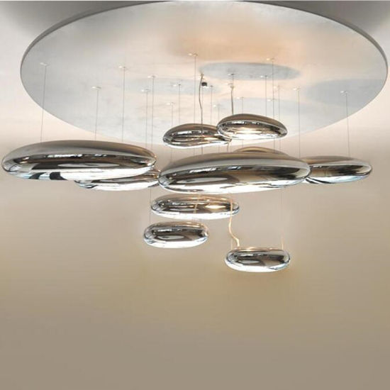 European Chrome Indoor Hanging Ceiling Lamp for Hotel Project pictures & photos