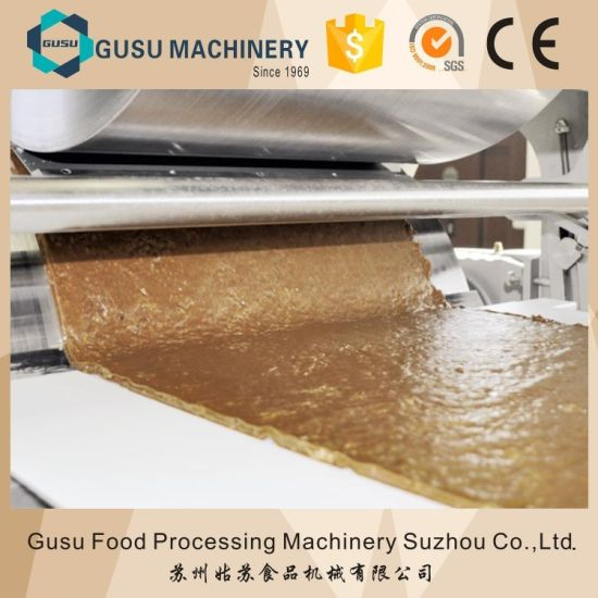 Snack Food Compound Cereal Candy Bar Automatic Chocolate Making Machine pictures & photos