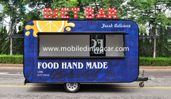 China Mobile Factory Price Food Trailer Business (CE