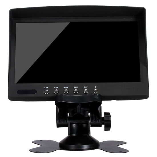 Factory Wholesale 7 Inch Mini TV Car LCD Monitor With AV Input