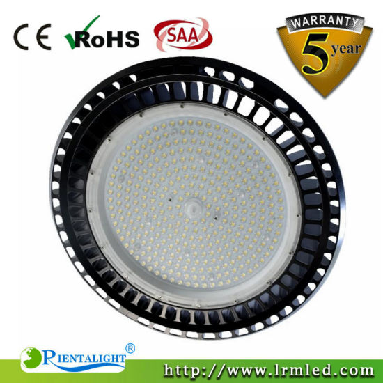 5 Year Warranty IP65 Factory Warehouse Industrial 200W LED High Bay Light pictures & photos