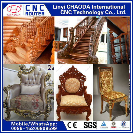 CNC Router Rotary for Antique Sofa Legs, Handrails, Sculptures pictures & photos