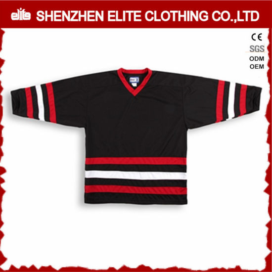 Cheap Wholesale Blank Christmas Ice Hockey Goalie Jerseys Custom pictures & photos
