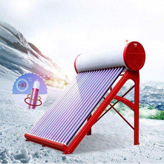 Sun-Seeker--No-Pressure-Solar-Water-Heater-with-Vacuum Tube