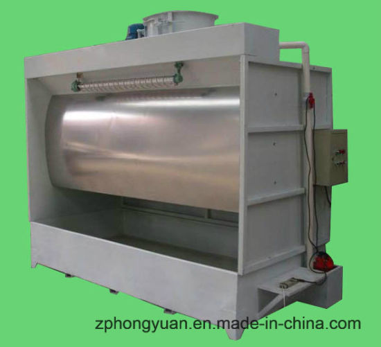 Spray Paint Booth with Water Curtain and Exhaust Fan