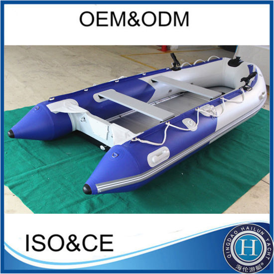 PVC Pontoon Inflatable Motor Fishing Rubber Boat