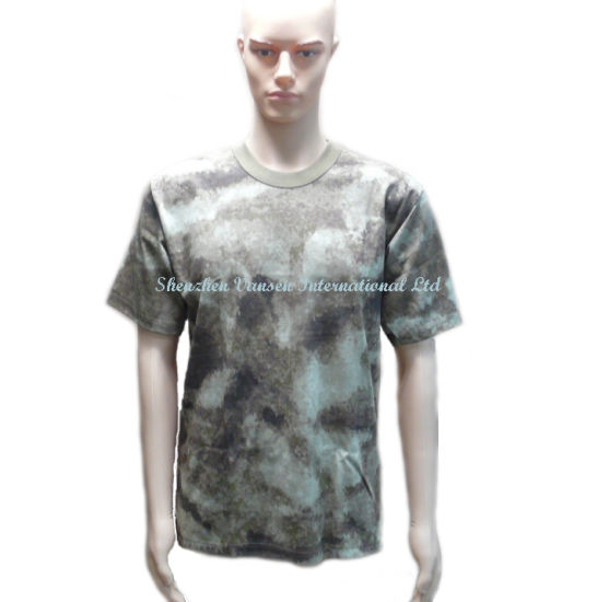 Fashion 100% Cotton a-Tacs Au T-Shirt /Shirts/T Shirt for Men