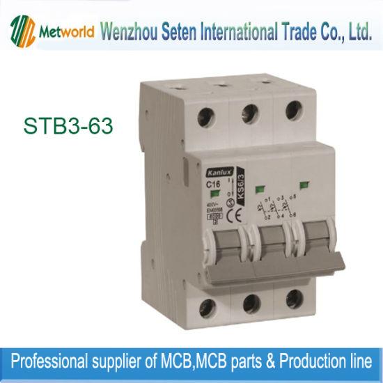 Mini Circuit Breaker / 1p+N MCB (STB3-63)