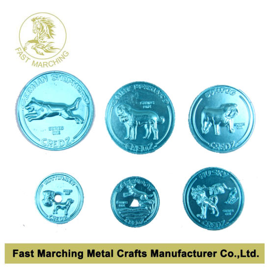 Anodized Aluminum Coin, Hot Sale Tokens