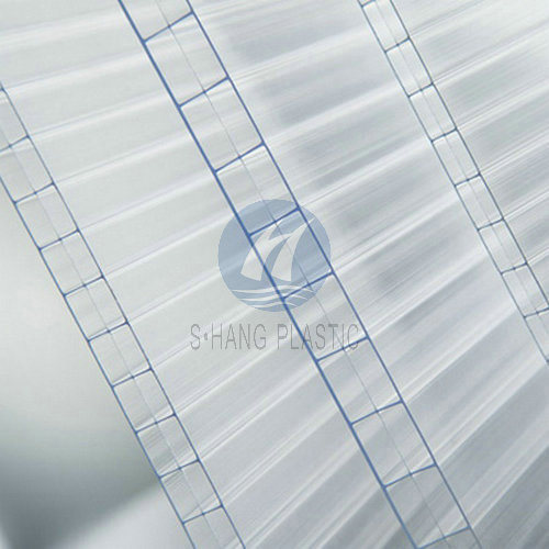 3-Wall Triple Wall Polycarbonate Plastic Sheet with UV pictures & photos