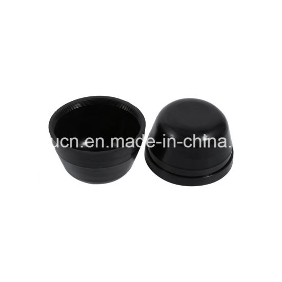 China Round EPDM Rubber Housing End Caps / Rubber Feet Cover