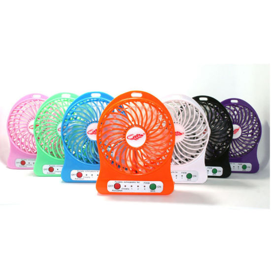 China Portable Electric Cooling Handheld Rechargeable Li-ion