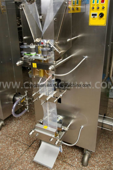Plastic Bag Forming Liquid Fill Sealing Machine with Filling Tank pictures & photos
