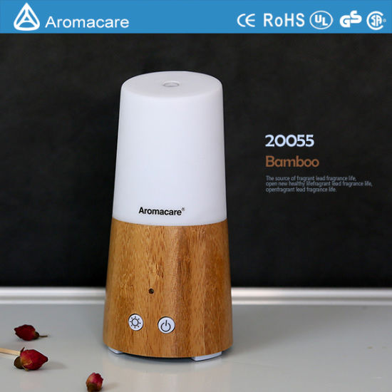 Aromacare Bamboo Mini USB Quiet Humidifier (20055) pictures & photos