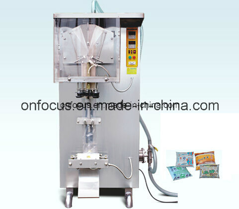 Automatic Water Liquid Pouch Filling Sealing Packing Machine Ah-1000