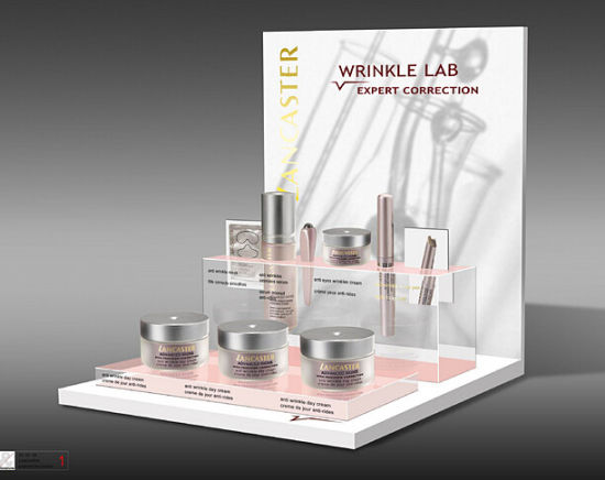 Customized Acrylic Wine Display Box, Makeup Pop-up Rack, Household Shelf, Selling Stand, Mascot Showing Box, Donation Box