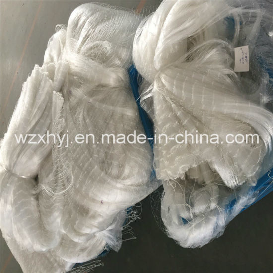 "0.40mmx3""X70mdx80yds Nylon Monofilament Fishing Net pictures & photos"
