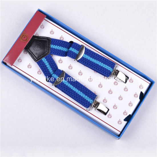 Lovely Performance Elastic Braces Clip-on Suspenders for Kids pictures & photos