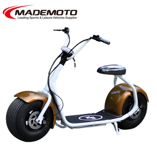 China Classical Big Wheel 800w City Coco Electric Scooter
