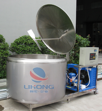 Stainless Steel Milk Cooling Vat with Open Top pictures & photos