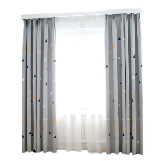 Factory Wholesale Cotton Linen Embroidered Home Curtain
