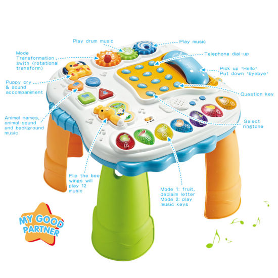 Baby Intellectual Toy Learning Desk for Kids (H0410496)