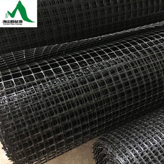 PP Uni-Direction / Biaxial Polypropylene Geogrid Using for Roadbeds and Slope Protection pictures & photos