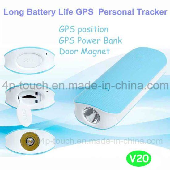 Power Bank Function GPS Tracker with Anti-Theft Alarm V20 pictures & photos