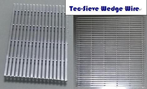 Tec-Sieve Wedge Wire Screen Mesh Panels