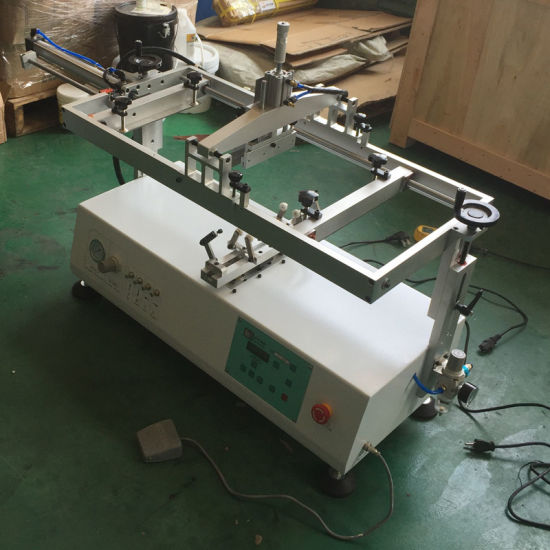 Desktop Cosmetic Bottle Silk Screen Printing Machine pictures & photos
