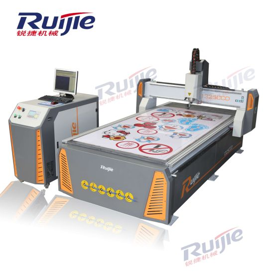 CCD Advertising CNC Router Rj-1325 for Engraving